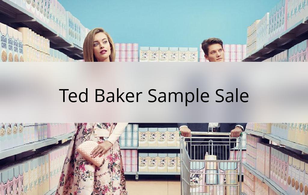 Ted Baker Sample Sale, Los Angeles, June 2017