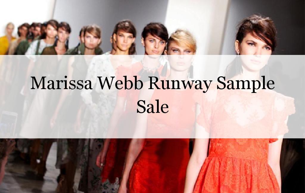 Marissa Webb Runway Sample Sale, New York, April 2017
