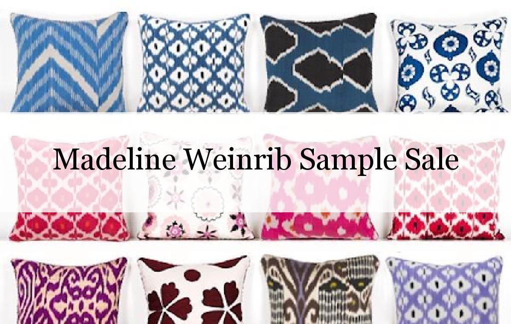Madeline Weinrib Sample Sale, San Francisco, April 2017