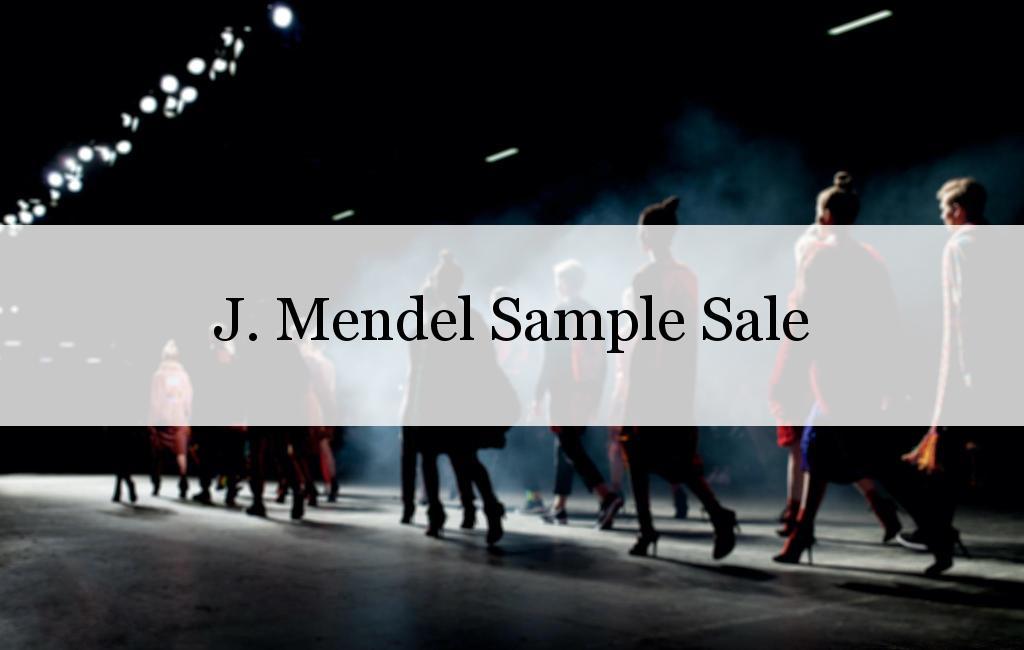 J. Mendel Sample Sale, Los Angeles, May 2017